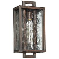 Craftmade Z9802-ABZ Cubic 1 Light 14 inch Aged Bronze Brushed Outdoor Pocket Sconce, Small photo thumbnail