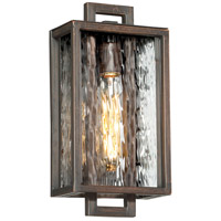 Craftmade Z9802-ABZ Cubic 1 Light 14 inch Aged Bronze Brushed Outdoor Pocket Sconce, Small alternative photo thumbnail