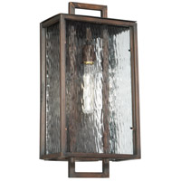 Craftmade Z9824-ABZ Cubic 1 Light 20 inch Aged Bronze Brushed Outdoor Wall Lantern, Large