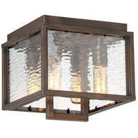 Craftmade Z9827-ABZ Cubic 4 Light 10 inch Aged Bronze Brushed Outdoor Flushmount, Large alternative photo thumbnail