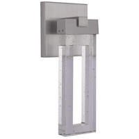 Craftmade ZA1104-SA-LED Cantrell LED 14 inch Satin Aluminum Outdoor Wall Lantern Small
