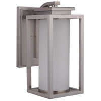 Craftmade ZA1314-SS-LED Vailridge LED 16 inch Stainless Steel Outdoor Wall Lantern, Medium