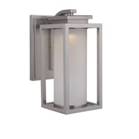 Vailridge LED 16 inch Stainless Steel Outdoor Wall Lantern, Medium