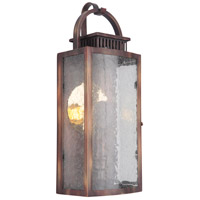 Craftmade ZA1502-WC-LED Hearth LED 16 inch Weathered Copper Outdoor Pocket Lantern, Small