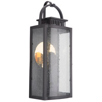 Craftmade ZA1512-MN-LED Hearth LED 20 inch Midnight Outdoor Pocket Lantern, Medium