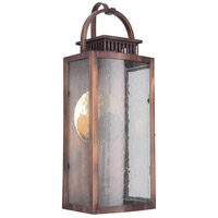 Craftmade ZA1512-WC-LED Hearth LED 20 inch Weathered Copper Outdoor Pocket Lantern Medium