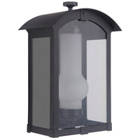 Craftmade ZA1702-MN-LED Montcrest LED 12 inch Midnight Outdoor Pocket Lantern Small