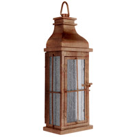 Craftmade ZA1802-WC-LED Vincent LED 17 inch Weathered Copper Outdoor Pocket Lantern