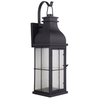 Craftmade ZA1804-MN-LED Vincent LED 19 inch Midnight Outdoor Wall Lantern, Small