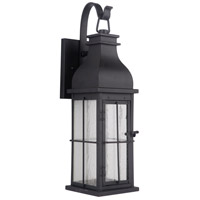 Craftmade ZA1814-MN-LED Vincent LED 24 inch Midnight Outdoor Wall Lantern, Medium