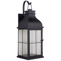 Craftmade ZA1824-MN-LED Vincent LED 25 inch Midnight Outdoor Wall Lantern Large