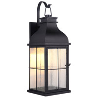 Craftmade ZA1824-MN-LED Vincent LED 25 inch Midnight Outdoor Wall Lantern, Large alternative photo thumbnail