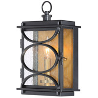 Craftmade ZA1902-MNPAB Hamilton 1 Light 13 inch Midnight and Patina Aged Brass Outdoor Wall Mount