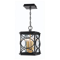 Craftmade ZA1911-MNPAB Hamilton 4 Light 9 inch Midnight/Patina Aged Brass Outdoor Pendant