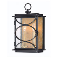 Craftmade ZA1912-MNPAB Hamilton 2 Light 16 inch Midnight and Patina Aged Brass Outdoor Wall Mount