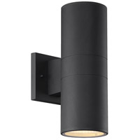Craftmade ZA2120-TB-LED Pillar LED 12 inch Textured Matte Black Outdoor Wall Mount