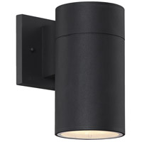 Craftmade ZA2124-TB-LED Pillar LED 8 inch Textured Matte Black Outdoor Wall Mount