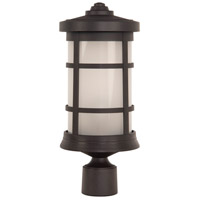Craftmade ZA2315-BZ Resilience Lanterns 1 Light 17 inch Bronze Outdoor Post Mount