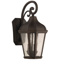 Craftmade ZA3014-DC Briarwick 2 Light 15 inch Dark Coffee Outdoor Wall Mount