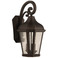 Craftmade ZA3024-DC Briarwick 3 Light 19 inch Dark Coffee Outdoor Wall Mount
