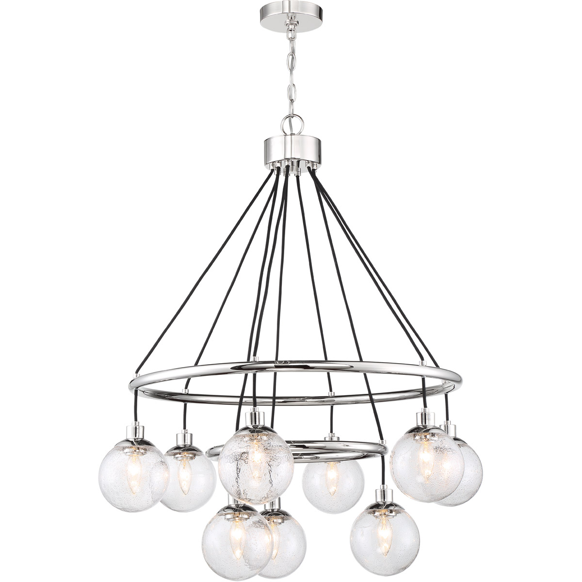 Craftmade 53329-CH Neighborhood Que 9 Light 31