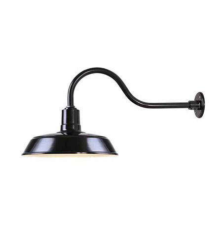 Canarm Black Aluminum Outdoor Wall Lights