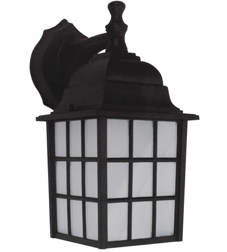 Canarm Black Glass Outdoor Wall Lights