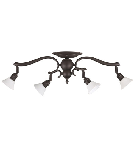 Canarm It217a04orb10 Addison 4 Light Oil Rubbed Bronze Track Ceiling