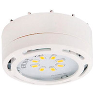 Signature 120V LED 3 inch White Undercabinet Puck Lighting