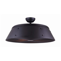 Andi 28 inch Matte Black Indoor Ceiling Fan
