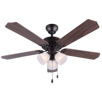 Tradition II 42 inch Oil Rubbed Bronze Indoor Ceiling Fan