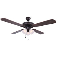 Chateau IV 52 inch Oil Rubbed Bronze Indoor Ceiling Fan
