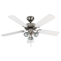 Catalyst II 42 inch Brushed Pewter Indoor Ceiling Fan