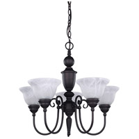 Canarm ICH20A05ORB Julianna 5 Light 23 inch Oil Rubbed Bronze Chandelier Ceiling Light