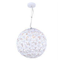 Beatrice 3 Light 15 inch White Chandelier Ceiling Light