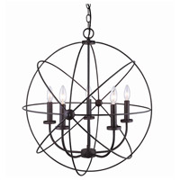 Canarm ICH282B05ORB25 Sumerside 5 Light 25 inch Oil Rubbed Bronze Chandelier Ceiling Light