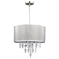 Canarm ICH394A04CH9 Benito 4 Light 16 inch Chrome Chandelier Ceiling Light