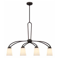 Canarm ICH421A04ORB Somerset 4 Light 35 inch Oil Rubbed Bronze Chandelier Ceiling Light