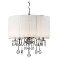 Canarm ICH438A05CH18 Sarah 5 Light 18 inch Chrome Chandelier Ceiling Light