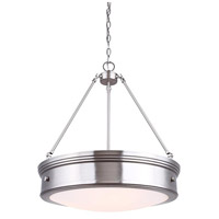 Boku 4 Light 2 inch Brushed Nickel Chandelier Ceiling Light