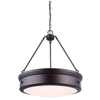 Boku 4 Light 2 inch Oil Rubbed Bronze Chandelier Ceiling Light