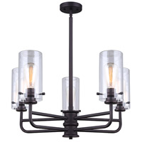 Albany 5 Light 3 inch Oil Rubbed Bronze Chandelier Ceiling Light