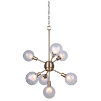 Estella 7 Light 22 inch Gold Chandelier Ceiling Light
