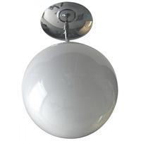 Canarm ICL1407 Signature 1 Light 8 inch Chrome Semi-Flushmount Ceiling Light