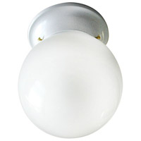 Canarm ICL911 Signature 1 Light 6 inch White Semi-Flushmount Ceiling Light