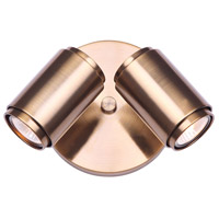 Canarm ICW1014A02GD10 Shale 2 Light 13 inch Gold Ceiling/Wall Light Ceiling Light