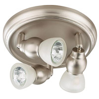 Lexington 3 Light Brushed Pewter Track Light Ceiling Light