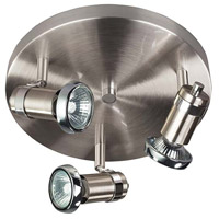 Canarm ICW391A03BCH10 Shay 3 Light Chrome Track Light Ceiling Light