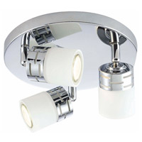 Megan 3 Light Chrome Track Light Ceiling Light