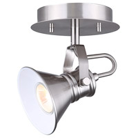 Morocco 1 Light Brushed Nickel Track Light Ceiling Light